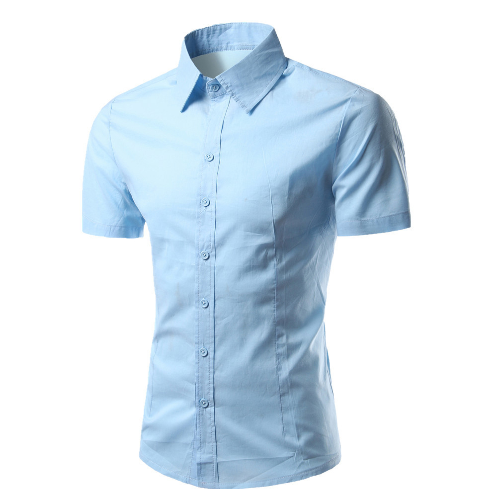 Men 39 s executive short sleeve shirt bismil trading for Men s fashion short sleeve shirts